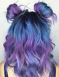 Фиолетовые волосы #59