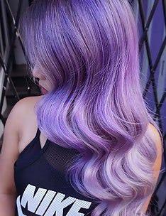 Фиолетовые волосы #60