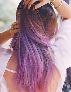 Фиолетовые волосы #61
