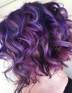 Фиолетовые волосы #63