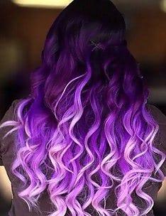 Фиолетовые волосы #65