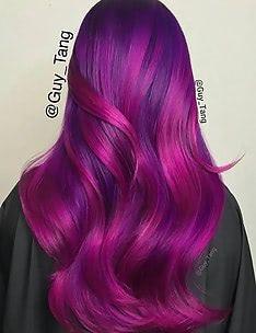 Фиолетовые волосы #05