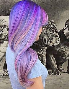 Фиолетовые волосы #66