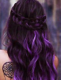 Фиолетовые волосы #67