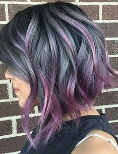 Фиолетовые волосы #68