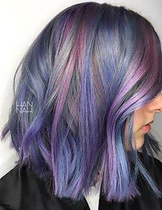 Фиолетовые волосы #70