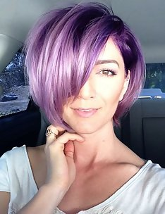 Фиолетовые волосы #71