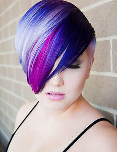 Фиолетовые волосы #74