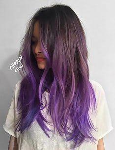 Фиолетовые волосы #75