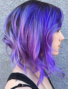 Фиолетовые волосы #06
