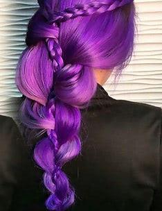 Фиолетовые волосы #77