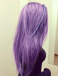 Фиолетовые волосы #78