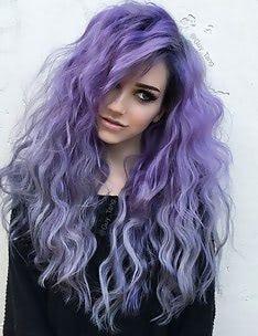Фиолетовые волосы #79