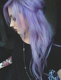 Фиолетовые волосы #80