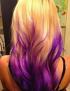 Фиолетовые волосы #81