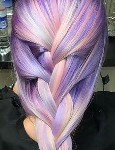 Фиолетовые волосы #82