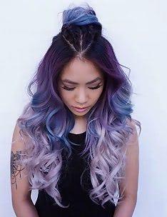 Фиолетовые волосы #83