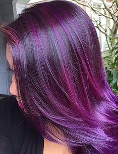 Фиолетовые волосы #84