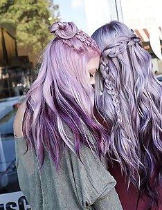 Фиолетовые волосы #85