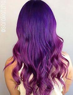 Фиолетовые волосы #07