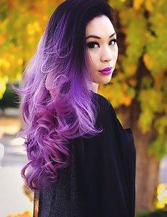 Фиолетовые волосы #86