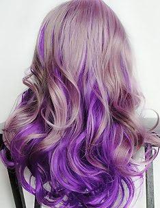 Фиолетовые волосы #87