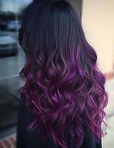 Фиолетовые волосы #89