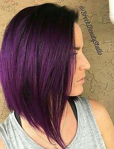 Фиолетовые волосы #90