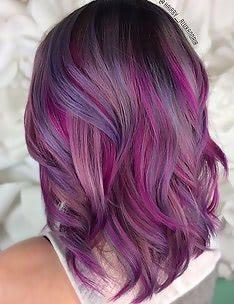 Фиолетовые волосы #91