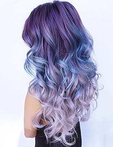 Фиолетовые волосы #92