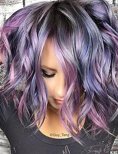 Фиолетовые волосы #93