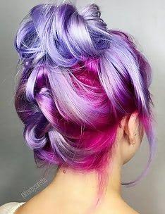 Фиолетовые волосы #94