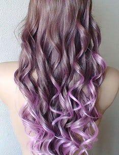 Фиолетовые волосы #95