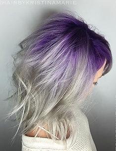 Фиолетовые волосы #08