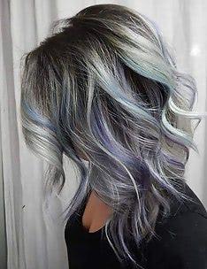 Серые волосы #09