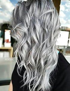 Серые волосы #11