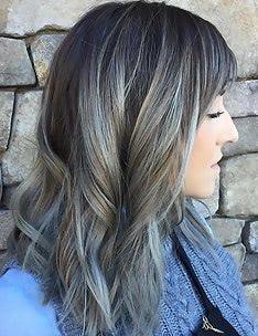 Серые волосы #14