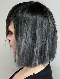 Серые волосы #15