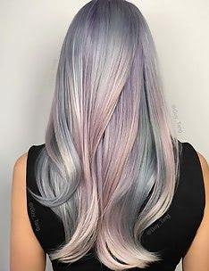 Серые волосы #16