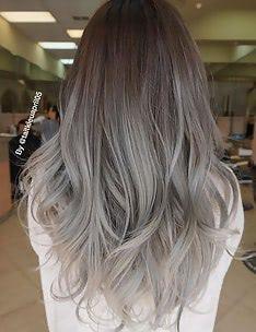 Серые волосы #17