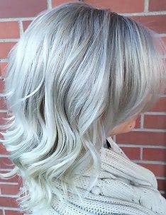 Серые волосы #18