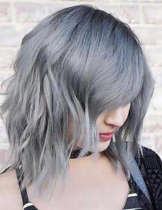 Серые волосы #19