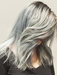 Серые волосы #20