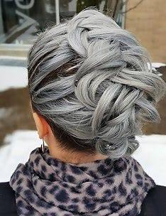 Серые волосы #21