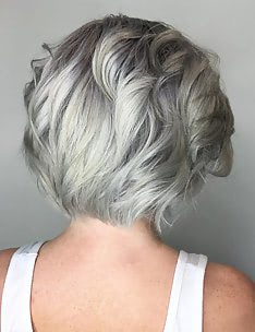 Серые волосы #22