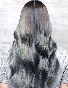 Серые волосы #23