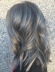 Серые волосы #27