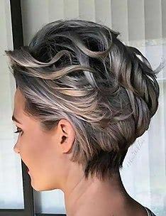 Серые волосы #01