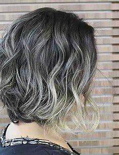 Серые волосы #29