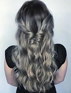Серые волосы #31